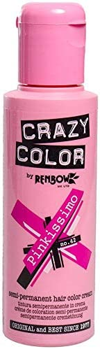 Crazy Color by Renbow Semi Permanent Colour Hair Dye Pinkissimo 100ml