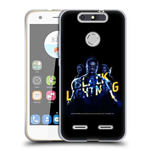 Official Black Lightning Group Key Art Soft Gel Case Compatible for ZTE...