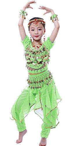 auchtanz Kostüm Anzug grün L ()