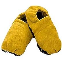 InnovaGoods Zapatillas de Casa Calentables en Microondas-Mostaza, Unisex Adulto, Amarillo, 38