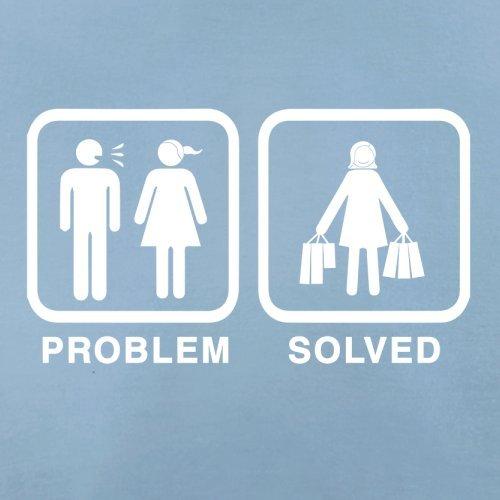 Problem gelöst - Einkaufen - Herren T-Shirt - 13 Farben Himmelblau