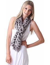 Pashmina Couture Print Leo 70% Kaschmir 30% Seide – 70 x 200cm – 12 Farben