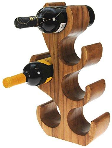 6 Botellas   Soporte Vino   Soporte Botella   Escultura