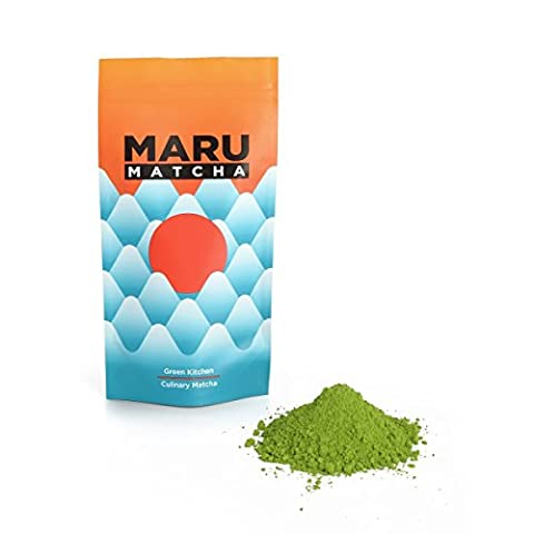 Japanese culinary matcha green tea powder - 100g in re-sealable zip pouch - Perfect for Green tea lattes, baking, and smoothies