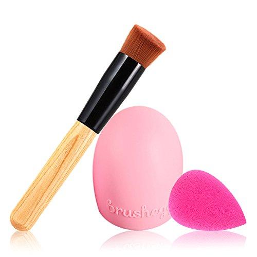 ropalia-3pcs-brosse-fondation-maquillage-pinceau-poudre-fond-de-teint-eponge-gant-de-nettoyage