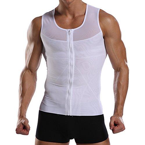 Joweechy Men Vest Tops Tummy Con...
