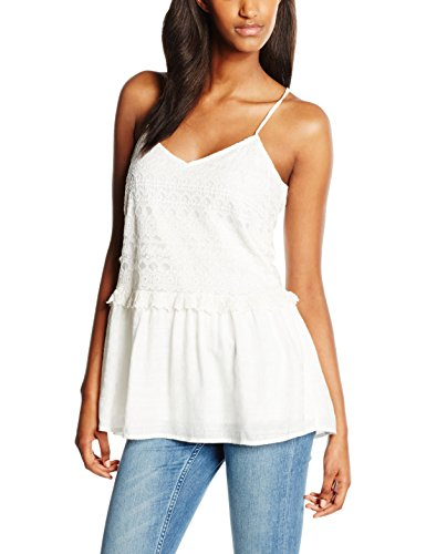 B-Young Hazel Top 1, Blouse Femme Blanc - Blanc (Blanc cassé)