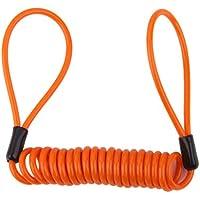 Cordino Di Sicurezza Molla Elicoidale Fune Freno A Disco Cavo Promemoria Di Blocco Arancione