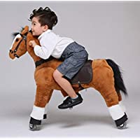 UFREE Horse Best Birthday Present for Boys. Action Pony Toy. Rocking horse. Large 36