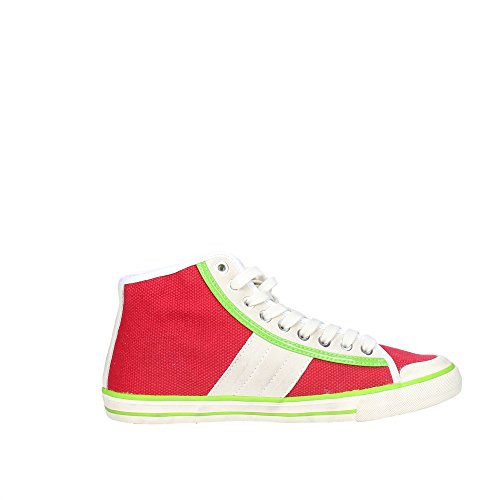 D.A.T.E. Tender HIGH-92 Sneakers Alta Donna Rosso