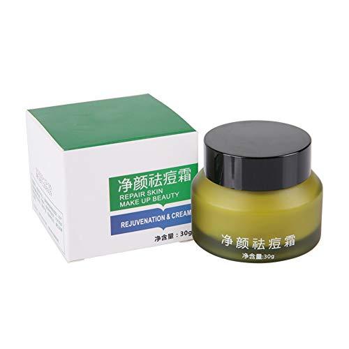 30g Crema per la cura del viso, Crema riparatrice naturale a base di erbe per la rimozione dell'acne Anti Comedo