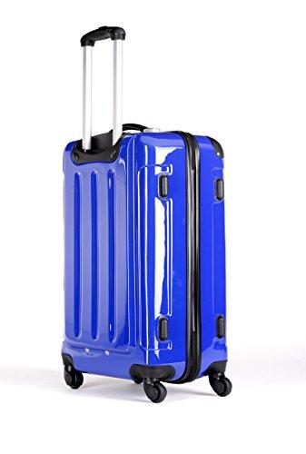Packenger Koffer 2er-Set, L/XL, Blau - 2