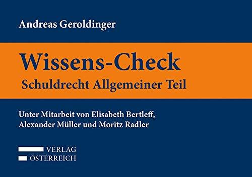 Wissens-Check. Schuldrecht Allgemeiner Teil
