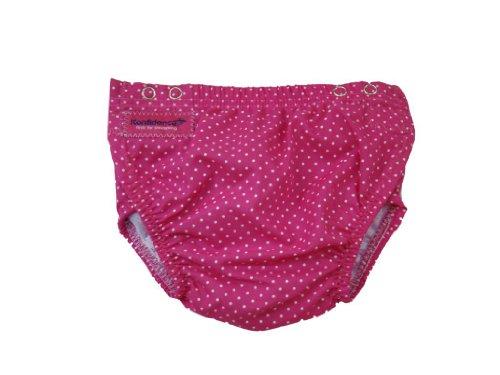 Schwimmwindel 516 pink getupft, 3 Monate bis 3 Jahre