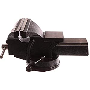 Geko G01033 – Tornillo de banco (200 mm), color negro