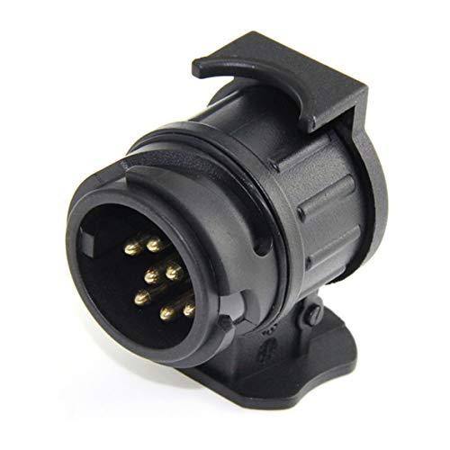 Heaviesk 13 Pin wiederum 7 Pin Steckdose Autokabel Stecker Wasserdichte Anhänger Signal Licht Auto Abschleppen Conversion Adapter -