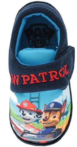 Socks Uwear  Paw Patrol,  Jungen Durchgängies Plateau Sandalen mit Keilabsatz Red-Navy