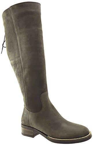 JJ Footwear Damen Stiefel Leder Burton XL Espresso Grain Nubuck
