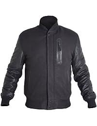BURNING SKULL BSKULL Michael B Jordan Battle Adonis Creed Jacket with Cowhide Sleeves XXS-5XL
