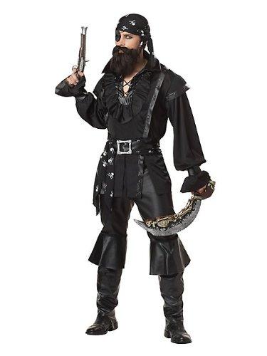 Imagen de california costume colecciones cc01188 xl para hombre saqueo pirata disfraz adulto  x large