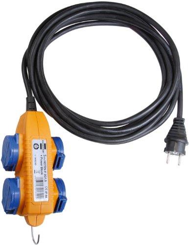 Preisvergleich Produktbild Brennenstuhl Baustellenkabel IP44 mit Powerblock Baustelleneinsatz und Outdoor 10m, 1151740