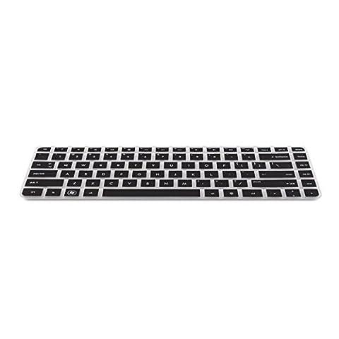 kwmobile protection de clavier QWERTY (US) robuste, fine en silicone pour HP Pavilion G4 G6 M4, Envy 4 6 15 Pro, DM4 DV4, HP 450 1000 2000, Presario 431 430 450 Q43 CQ57 CQ45 en noir