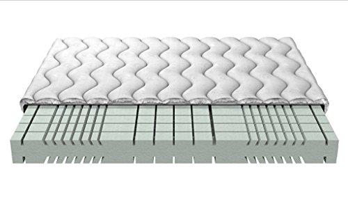 Memory Foam-Matratzen 3D POSH Schaum Kein Kleber Waschbar gesteppte Abdeckung 18 cm 3-Schicht Moon gesteppt 100x200 cm decken (Memory-foam-matratze Abdeckung)