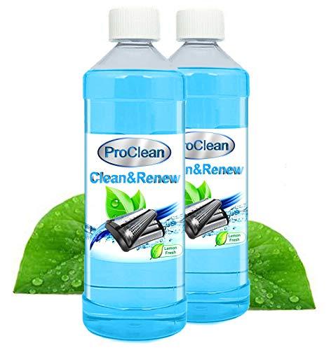 Ideal Pro Clean Scherkopfreiniger 2 x 1000ml Nachfüllflüssigkeit für Reinigungskartuschen. Braun CCR Kartuschen + gängige Kartuschen