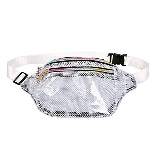 Mädchen Bauchtasche Modern Transparent Wasserdicht Umhängetasche Gürteltasche Damen Trachtentaschen Clutch Dirndl Klatsch Tasche Bumbag Hüfttasche Botetasche Citytasche für Frauen