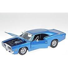 Unbekannt Dodge Charger R//T Maisto 1:18 Modellauto hellgr/Ã/¼n//Schwarz Fertigmodell 1969
