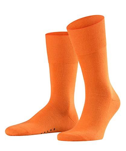 FALKE Airport Herren Socken pumpkin (8364) 47-48 klimaregulierend durch Schurwolle