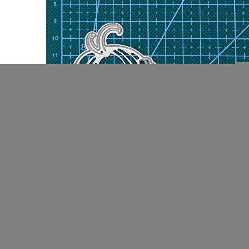 WOZOW Stanzschablone Scrapbooking für Cricut Cuttlebug Grußkarte Geschenk Verpackung Dekoration...