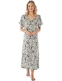 58a8eb67c9 Ladies Long Plus Size Jersey Nightshirt in 7 Prints. Sizes 14-16 18-