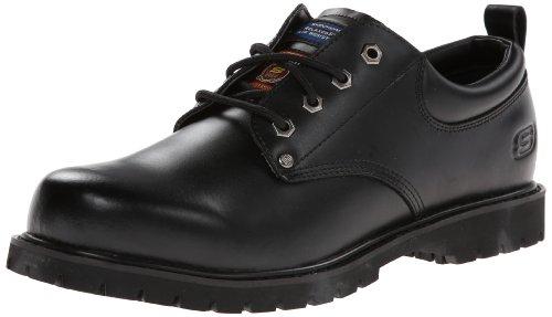 Preto Trabalho Trabalho Fribble 77019 Skechers O Antiderrapante Em Álamo Sapato Para zCnq4