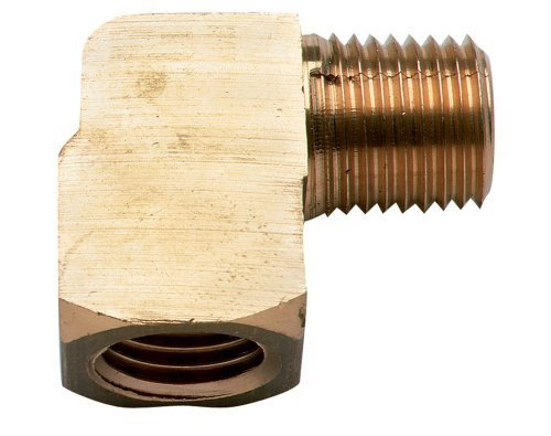 Moeller Marine 'Moeller Brass Fuel Line Elbow (1/4NPT, Männlich/Weiblich, Brass) by Products -
