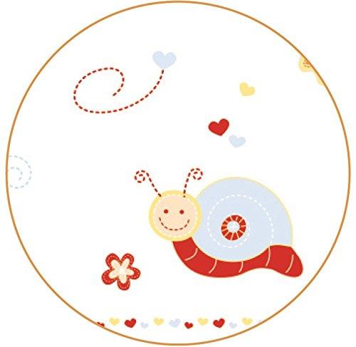 roba Komplettbett Set 'Butterfly', Babybett natur inkl. Himmel, Nest, Matratze, Kombi Kinderbett 70 x 140 cm umbaubar zum Junior Bett - 3