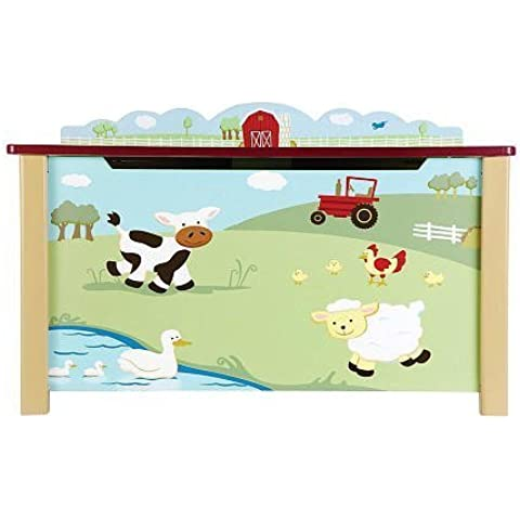 Guidecraft Farm Friends Toy Box by Guidecraft