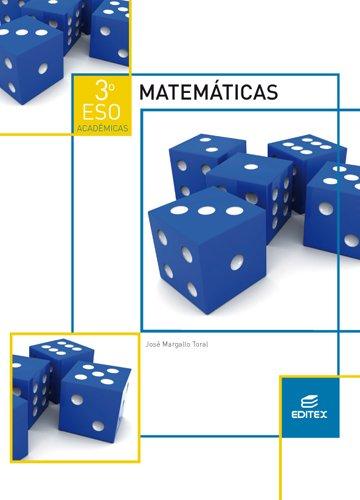 Matemáticas 3º ESO Académicas (LOMCE) (Secundaria) - 9788490784976 por José Margallo Toral