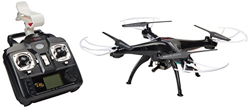 Syma X5SW 4CH 2.4G 6-Axis Gyro Headless 0.3MP Camera 360-degree 3D Rolling Mode 2 RTF RC Quadcopter,