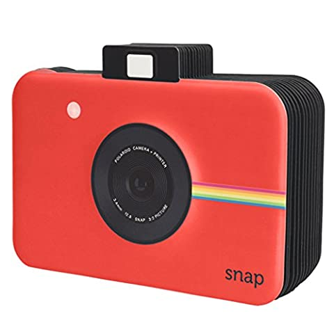 Polaroid Snap Themed Scrapbook Photo Album For 2x3 Photo Paper Projects (Snap, Zip, Z2300) - Red - Snap Pagina Protezioni