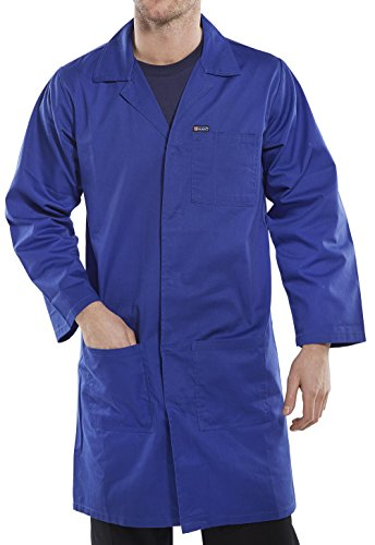 Price comparison product image POLY COTTON WAREHOUSE COAT ROYAL BLUE 44