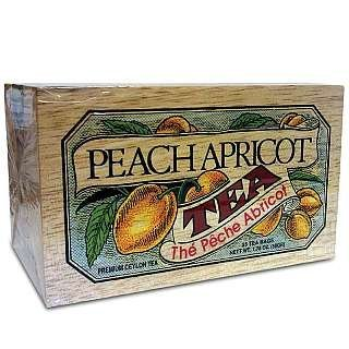 Specialty Tea in Softwood Box - Peach Apricot by Ann's Tea Emporium