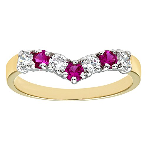 citerna-9-ct-yellow-and-white-gold-stone-set-wishbone-ring-size-o