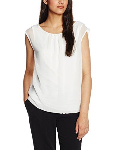 s.Oliver Premium 2in1 Optik, T-Shirt Femme Ecru (ice cream 0115)