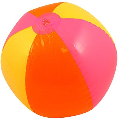GCC Fashion Store Kinder aufblasbar Mehrfarbig Beach Ball 50cm Blow Up Spielzeug Pool Party Zubehör