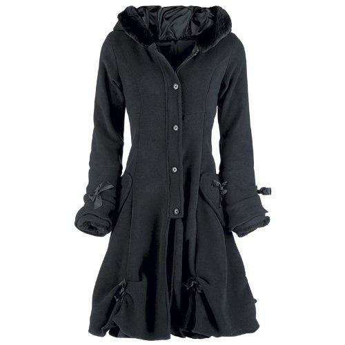 Poizen Industries Mantel Alice Coat black Gr.M