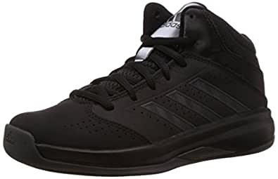 adidas Unisex Isolation 2 K Core Black, Core Black and Black Sports Shoes  - 1 UK/India (33 EU)