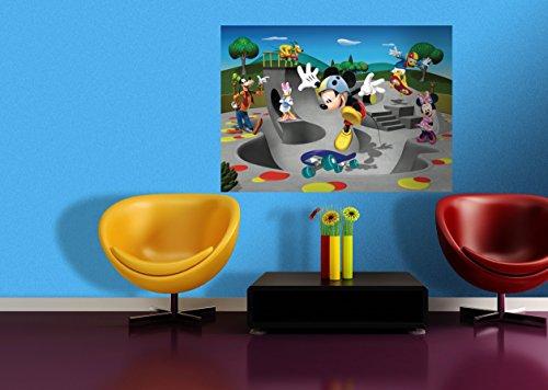 AG Design De Mickey Mouse de Tela de Fotos de Pared 160 x 115 cm (63 x 114,3 cm)