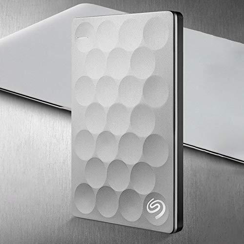 Preisvergleich Produktbild iUcar USB3.0 Festplatte mit stoßsicherer Verschlüsselung - Mobile HDD aus Metall - grau (2 TB)