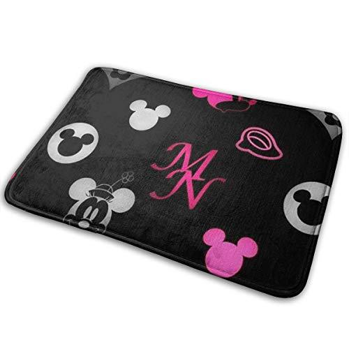 Greatbe Bienvenue Porte Tapis Mickey Mouse Et Minnie